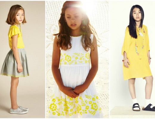 girlswear yellow trend