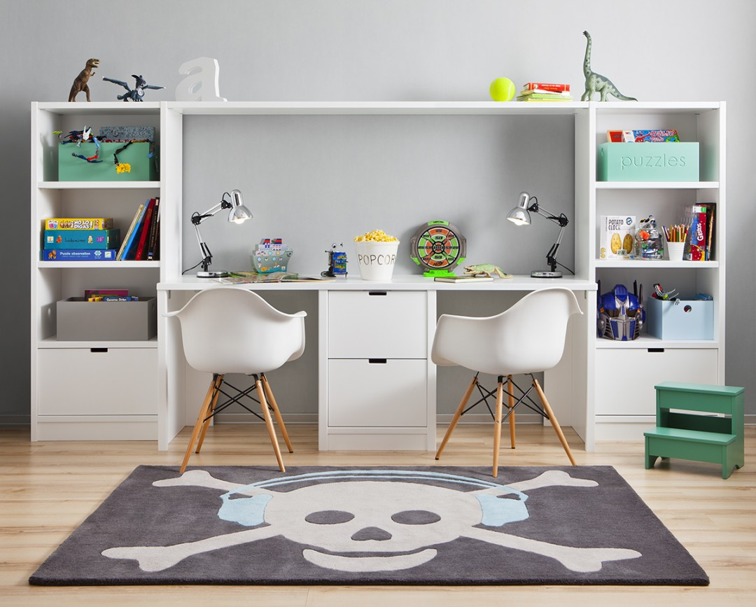 Back to school homework for Meuble mural bureau ikea
